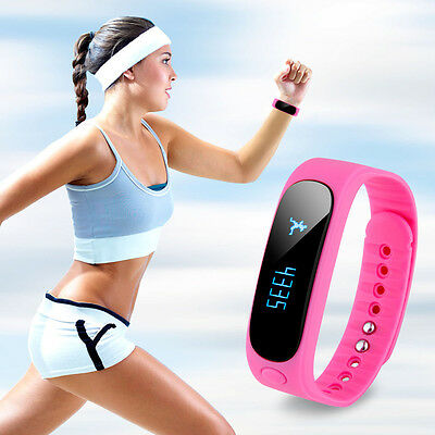 HEALTH TRACKER FITNESS BAND SMART WATCH IP67Waterproof for IPHONE SAMSUNG HTC LG