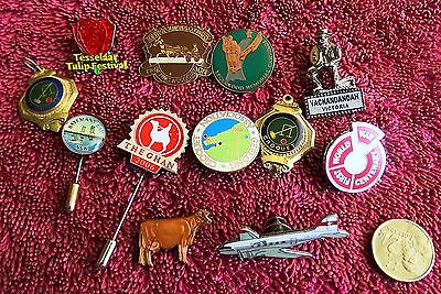 Tourist Badges Plus   Nice Lot Of Collectables
