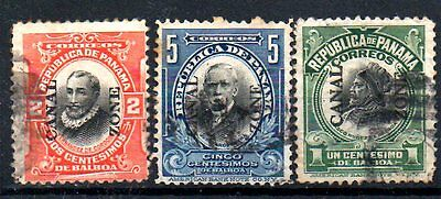Stamps From Panama / Canal Zone 1904.