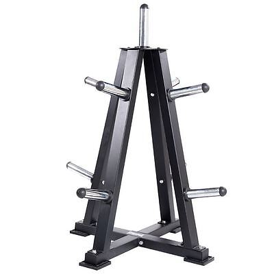 Lonsdale Weight Plate Rack Training Exercising Home Gym Equipment