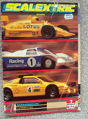1988 SCALEXTRIC 29th Edition CATALOGUE very good condition