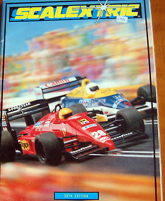 1989 SCALEXTRIC 30th Edition CATALOGUE very good condition