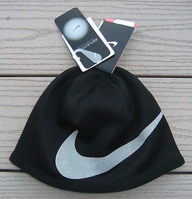 NWT NIKE THERMA-FIT Reflective Boys Beanie Hat-Size 8 20 Ret  20 ... 2ee027e3150