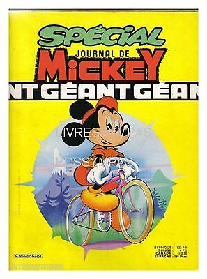 Special Le Journal De Mickey Geant 1615 Bis  Be 1983