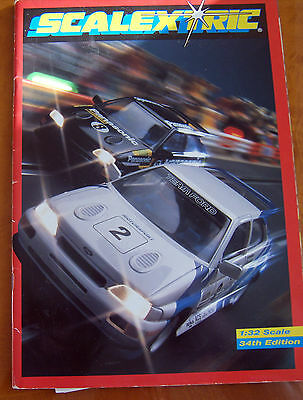 SCALEXTRIC 34th Edition CATALOGUE very good condition Power & the Glory