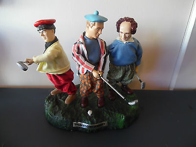 The 3 Stooges Mechanical Battery Operated Golf Academy Working