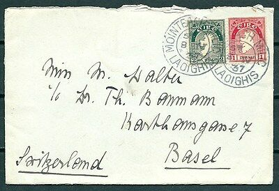Ireland 1937 Cover Mointeach Milic To Germany, Nice Stamps & Postmark-Cag 040117