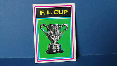 1 x Topps Chewing Gum Cards The Football League Cup 1976/77 Blue Back