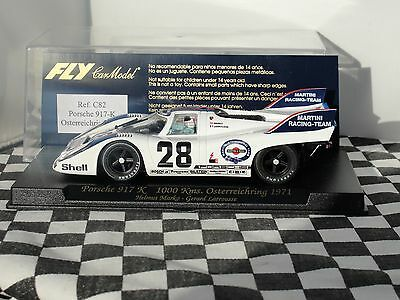 Fly  Porsche 917 K 1000 Kms Osterreichring 1971  #28  C82  1.32 New Old Stock
