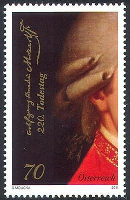 Austria 2011 Mozart/Music/Composers/People/Opera/Musicians 1v (n42268)