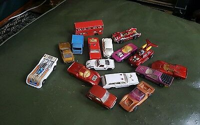 Matchbox lesney superfast toy cars lot.