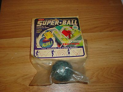 RARE Vintage Wham-O Super Ball Mint In Package 1965 NOS Toy Rubber Zectron MIP