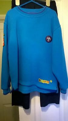 Boys Beavers sweatshirt top  size 28 inch