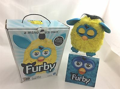 Boxed Yellow/blue Furby 2012 new generation