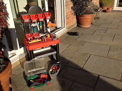 Childs Smoby Workbench & Toolbox