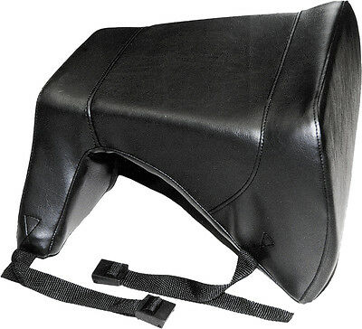SPI Rumble Snowmobile Vinyl Seat For 2-up Riding Black Universal SM-16157