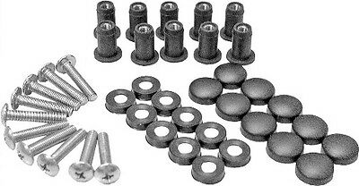 SPI Windshield Snowmobile Fasteners Screw Kit 10-Pack For Arctic Cat SM-06015