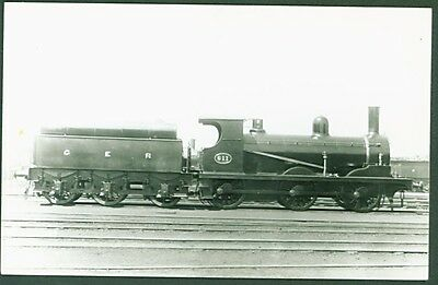 GER J Class 0-6-0 No. 611. Real Photographs Southport photo