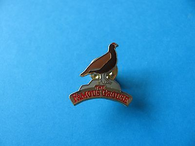 The Famous Grouse Scotch Whisky Pin Badge. Coloured. VGC.