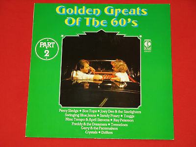 Golden Greats Of The 60's - LP Troggs Crystals Drifters