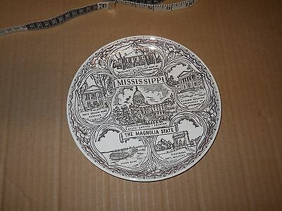 Decorative Plate: Mississippi, The magnolia State