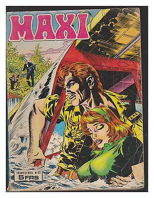 MAXI   trimestriel  N° 27  DE 1978 BE-