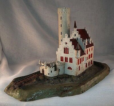 Barons Fortified House And Castle, Vgc, Faller, N Gauge / Scale