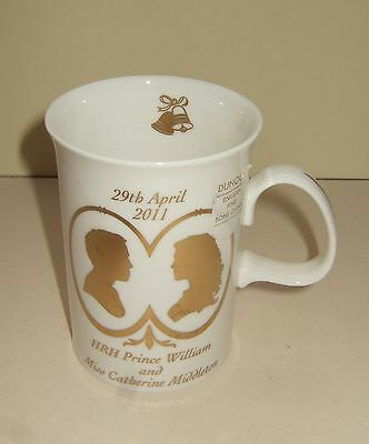 Dunoon Pottery Fine Bone China Mug - Marriage Of Prince William & Catherine