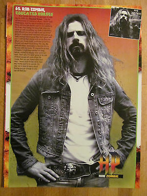 Rob Zombie, Full Page Pinup