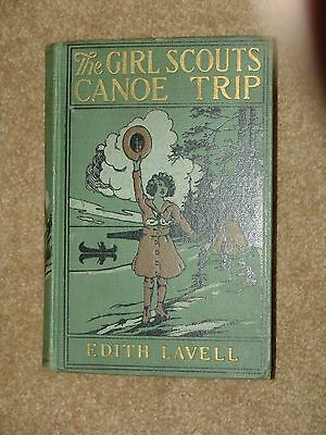 Lavell - The Girl Scouts Canoe Trip - 1922