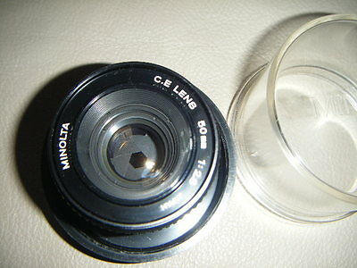 Lovely Clean Minolta CE f2.8 50mm enlarging lens