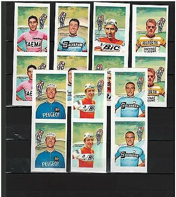 2 x MANAMA, Stamps, Champion of Sports, Cycling - MINT NH - IMPERFORATE