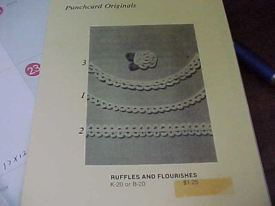 Knittery Card #20 Ruffles & Flourishes -Make Roses With a Punch card