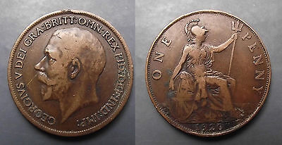 0238 Great Britain George V Penny 1920
