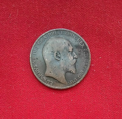0219 Great Britain Edward Vii Penny 1903