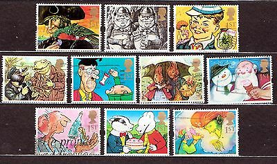 QEII 1993 Greetings stamps Gift Giving used set (j278)