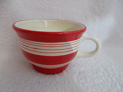 Laura Ashley Home - Large Red & White Striped Cup