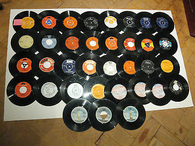 SOUNDS OF THE 70s Job Lot 35 Vintage 45rpm Singles Records TONY CHRISTIE