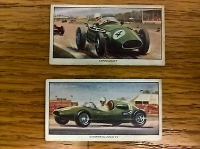 British Automatic Company trade cards: Racing and Sports Cars no's 2 and 3