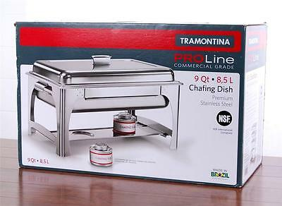 Tramontina Pro-Line Commercial Grade Premium Stainless Steel 9QT Chafing Dish