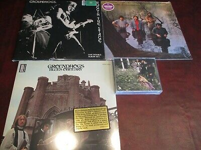 Groundhogs Hoggin The Stage 1971/76 180 Gram Set + Blues + Scratching Lps + Cd's