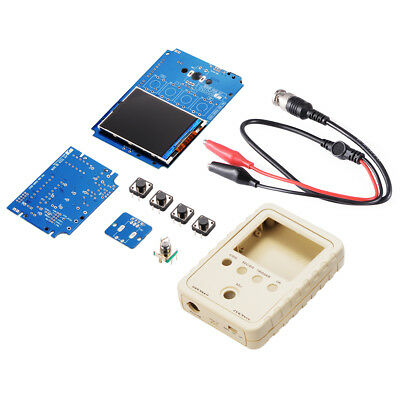 "DSO150 Digital Shell Oscilloscope 2.4"" TFT 1Msps DIY Housing Probe Kit TE673"