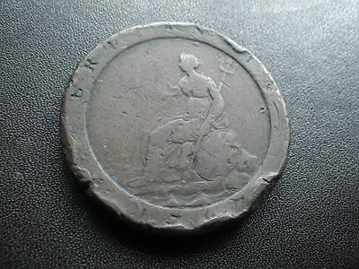 .. George III 1797 One Penny (aFine)