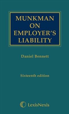 Munkman on employer's liability (Hardcover), Bennett, Daniel, 9781405781534