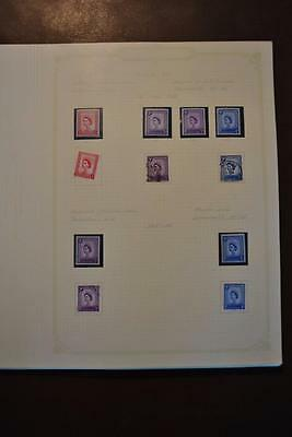 GB ISLE OF MAN IOM Pre-decimal-1981 Stamp Collection on Pages Lots of Fine Sets