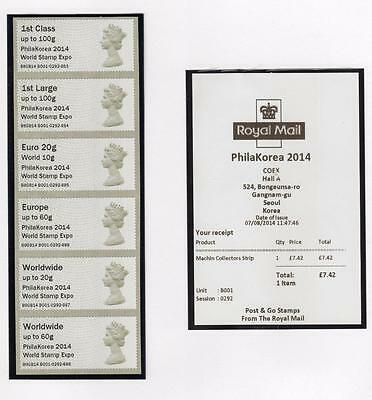 Specialised Collection Of Post & Go Labels (Ma13)