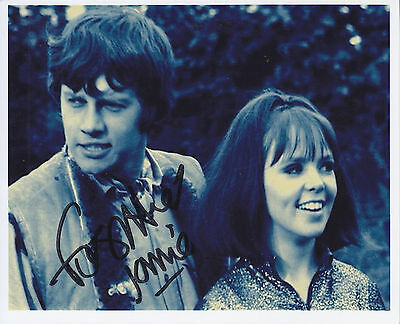 Frazer Hines Signed Picture