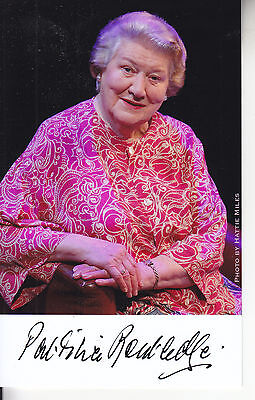 Patricia Routledge   SIGNED PICTURE