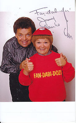 the krankies SIGNED PICTURE
