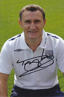 Tony Mowbray Signed Picture